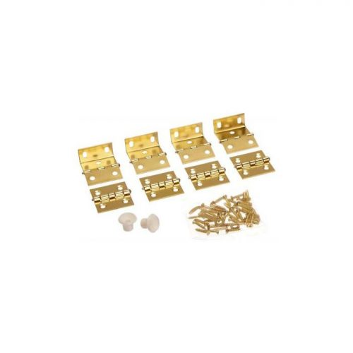 National Hardware Shutter Hinge Kits in Brass
